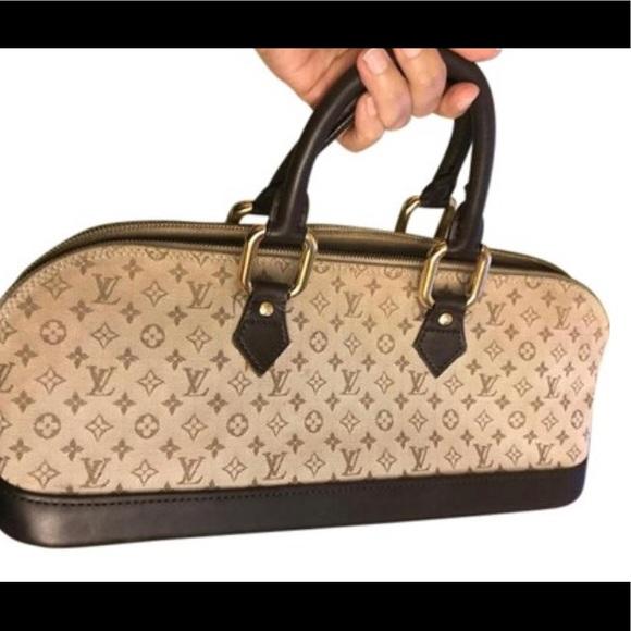 0a38d9c823e Louis Vuitton Bags   Lvalma Tanbrown Mini Lin Monogram Canvas ...